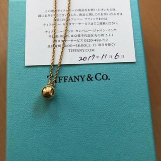 Tiffany & Co. - 【美品/Tiffany】ハードウェアボールネックレス