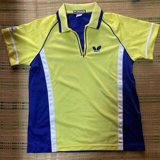 バタフライ(BUTTERFLY)の卓球 バタフライ ユニフォームシャツ Sサイズ(卓球)