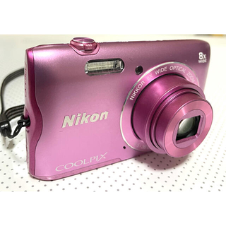 Nikon - Nikon デジタルカメラ COOLPIX A300 ピンク SDカード付き!