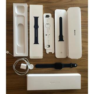 Apple - アップル Apple Watch 6 44mm ネイビー