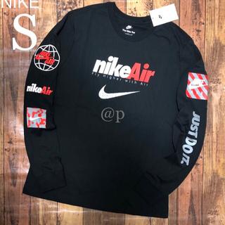 NIKE - 新品 S NIKE ナイキ エア ロンT 長袖Tシャツ 黒 S