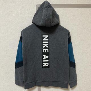 NIKE - キッズ NIKE 裏起毛 ジップ パーカー 150〜160 ユーズド