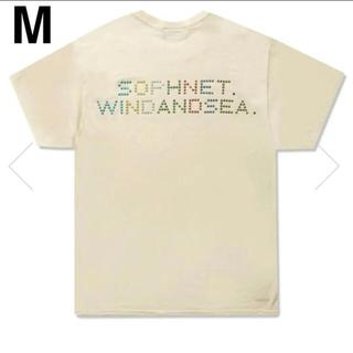 SEA - SOPHNET. × WDS (LINE STONE)OP T-SHIRT