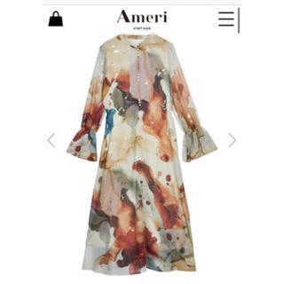 Ameri VINTAGE - ワンピース インクアートドレス アメリヴィンテージ AmeriVINTAGE