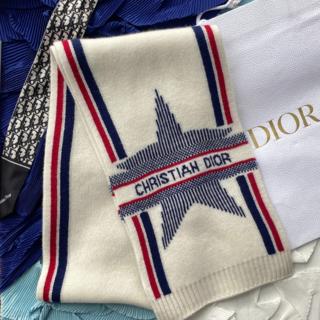 ディオール(Dior)の人気 新作 DIOR RALPS スカーフ ウール & カシミア ホワイト(その他)