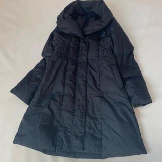アナイ(ANAYI)の美品✨アナイ ダウンコート 冬服 36 アウター ロング 黒 コート フェザー(ダウンコート)