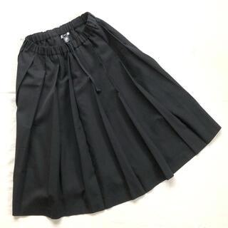 BLACK COMME des GARCONS - BLACK comme des garcons 黒 プリーツ スカート モード