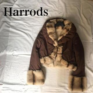 ハロッズ(Harrods)の●新品同様 ハロッズ ダウンジャケット ファーコート 【バルマン イネド 好きに(毛皮/ファーコート)