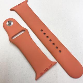 アップルウォッチ(Apple Watch)のアップル純正バンド Apple Watch 42mm 44mm(ラバーベルト)