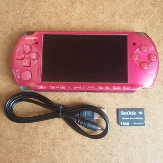 PlayStation Portable - PSP 3000 ラディアント・レッド