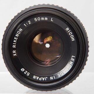 リコー(RICOH)のRICOH XR RIKENON 50mm F2.0 L 富岡光学(レンズ(単焦点))