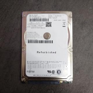 富士通 - 【稼働100h以下】富士通製 120GB HDD