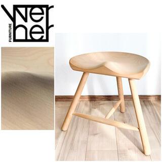 ACTUS - WERNER シューメーカーチェア No.42 スツール 42cm 無垢材 木製