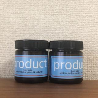 【2個セット】product プロダクト ヘアワックス 42g ココバイ(ヘアワックス/ヘアクリーム)