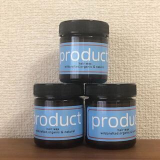 【3個セット】product プロダクト ヘアワックス 42g ココバイ(ヘアワックス/ヘアクリーム)