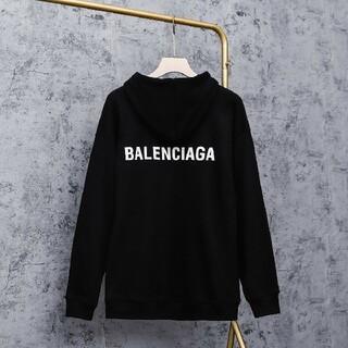 Balenciaga - 新品!男女兼用Balenciagaパーカー2枚13000 #1