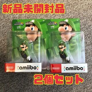 任天堂 - amiibo 新品未開封品 ルイージ 2個セット