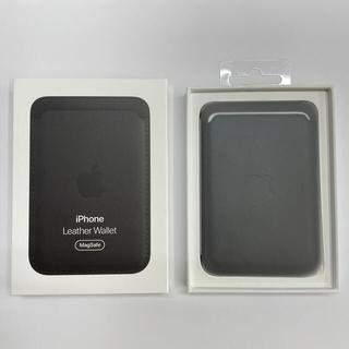 Apple - APPLE MagSafe対応 iPhoneレザーウォレット/ブラック
