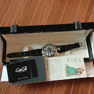 GaGa MILANO - 【正規品】ガガミラノ マヌアーレ手巻き  48MM 5010.06S