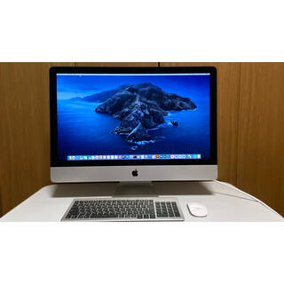 Mac (Apple) - iMac27late2015 5K i5 8GB 1TBプロ向けソフト