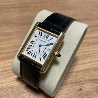 Cartier - カルティエ タンクルイ LM  メンズ k18無垢