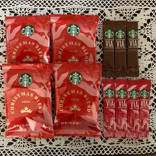 Starbucks Coffee - スタバ クリスマスブレンド コロンビア VIA オリガミ コーヒー 11個