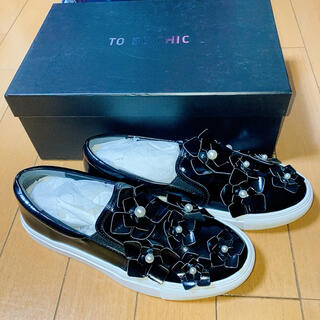 TO BE CHIC - TO BE CHIC スリッポン