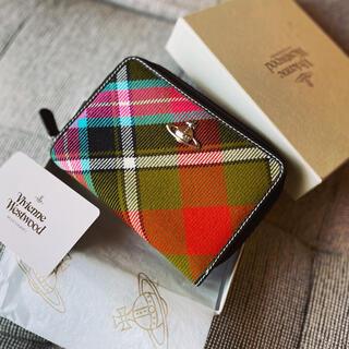 Vivienne Westwood - 箱付き美品VivienneWestwood オーブ+タータン大容量お財布