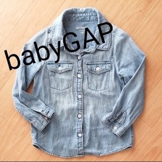 ベビーギャップ(babyGAP)のbabyGAP デニムシャツ(ブラウス)