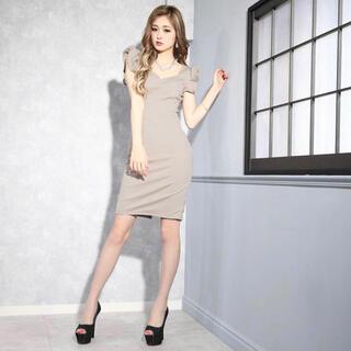 dazzy store - ドレス(ベージュ)