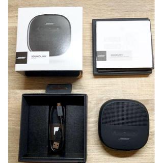 BOSE - 【美品】Bose SoundLink Micro speaker ブラック