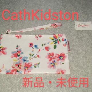 キャスキッドソン(Cath Kidston)の【新品・未使用】CathKidston レディースポーチ 花柄 送料無料(ポーチ)
