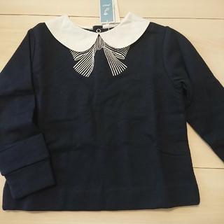 ジャカディ(Jacadi)のJacadi ジャカディ 襟付きリボントレーナー(Tシャツ/カットソー)