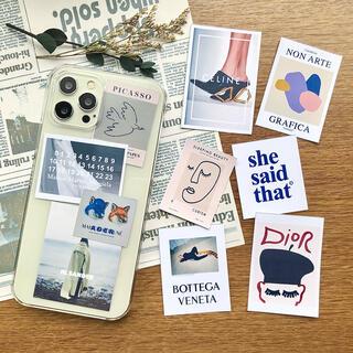 スマホ ステッカー  韓国 かわいい スマホケース ブランド iPhoneケース