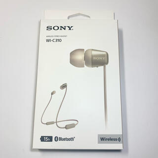 SONY - SONY ソニー ワイヤレス イヤホン WI-C310