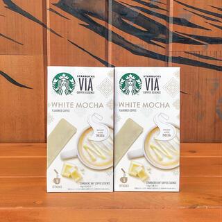 Starbucks Coffee - スターバックス ヴィア ホワイトモカ VIA 10本 インスタントコーヒー
