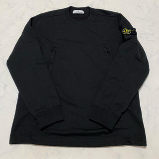 STONE ISLAND - 正規保証 国内正規品 美中古 ストーンアイランド サイドジップ スウェットシャツ