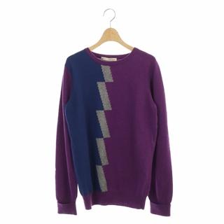 バレンシアガ(Balenciaga)のバレンシアガ 配色デザインクルーネックニット セーター プルオーバー カシミヤ混(ニット/セーター)