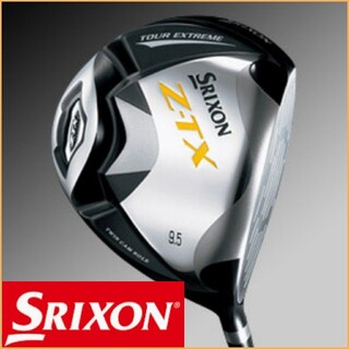 スリクソン(Srixon)の【美品】 SRIXON ゴルフ ドライバー ダンロップ スリクソン Z-TX(クラブ)