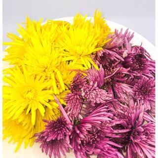 食用菊 2色詰合せ ~ 晩秋の二重奏 ~ 新潟の食文化を全国へ(野菜)