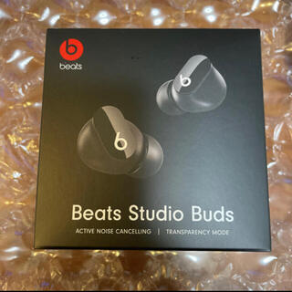 Beats by Dr Dre - beats studio buds 黒