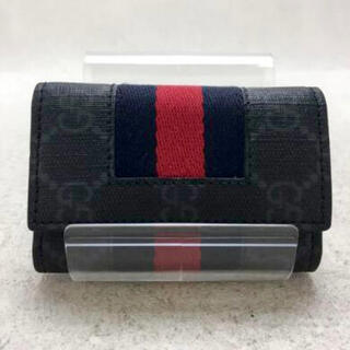 Gucci - ✨レアデザイン✨GUCCI グッチ GG 6連 キーケース ブラック
