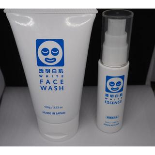 イシザワケンキュウジョ(石澤研究所)の透明白肌 ホワイトフェイスウォッシュと美容液セット(洗顔料)