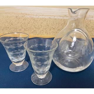 アフタヌーンティー(AfternoonTea)の【Afternoon Tea Living】ガラス製とっくりおちょこ(グラス/カップ)