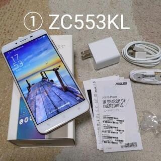 ASUS - ①ASUS Zenfone 3 max zc553klシムフリースマホ