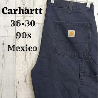 carhartt - 90s カーハート ペインターパンツ W36L30ネイビーダックコットンメキシコ