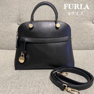 Furla - 【美品】 FURLA パイパー Sサイズ 2way ブラック ショルダー