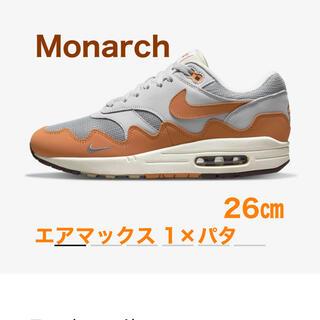 NIKE - NIKE AIR MAX 1 × Patta Monarch 26㎝