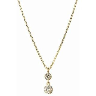 agete - agete K18 ダイヤモンド ネックレス ¥92,400