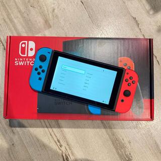 Nintendo Switch - 任天堂 Switch ネオンブルー/ネオンレッド スイッチ